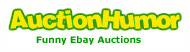 Funny, bizarre, and weird eBay Auctions